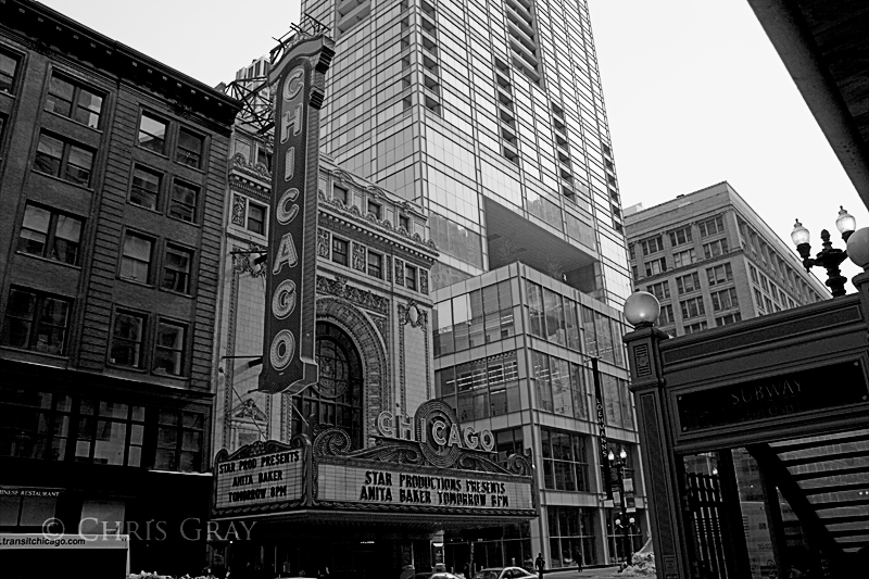 Chicago - Chicago Theater BW.jpg